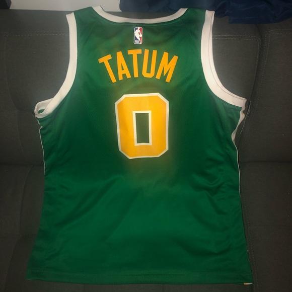 promo code a40f3 e78be Men's Nike Boston Celtics Tatum Swingman Jersey NWT